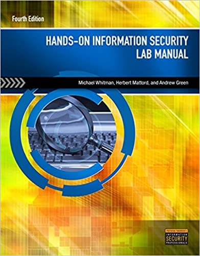 Book Hands-On Information Security Lab Manual
