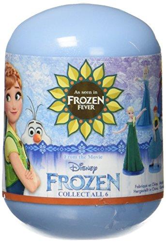 Figure Toys Action Capsule (Disney 'Frozen 34493–Frozen 3D Movie Frozen Fever Capsules Action Figure.)