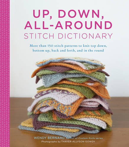 Up, Down All-Around Stitch Dictionary Chart Dictionary