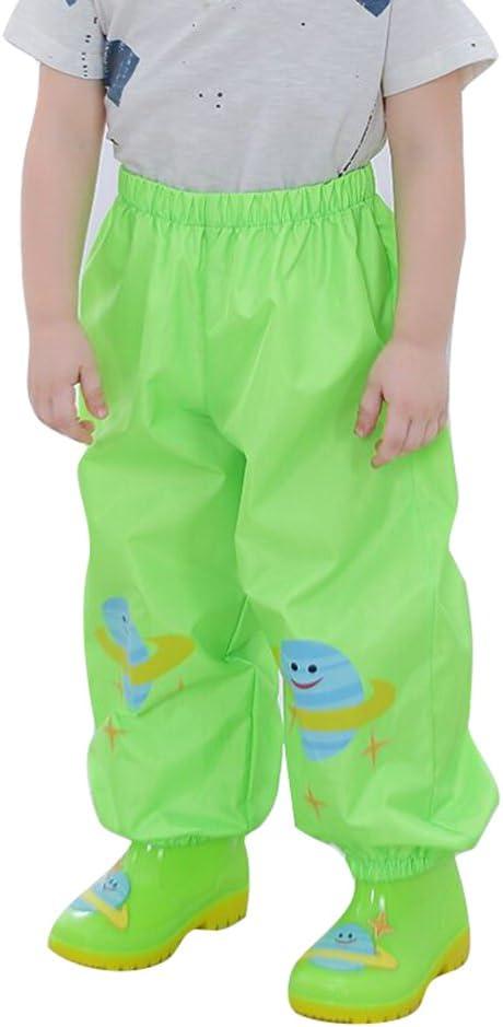 Giacche Impermeabile Bambino Cappotto di Pioggia Outwear Impermeabile con Cappuccio Pantaloni di pioggiaAereo Yollow//L