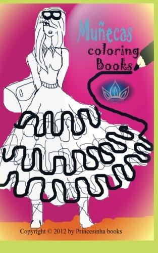 Munecas coloring book (Spanish Edition) [Princesinha books] (Tapa Blanda)