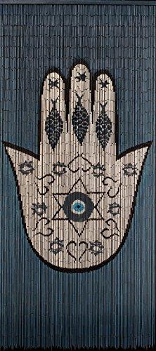 (BeadsOfParadise-NYC Bamboo Beaded Curtain Hand)