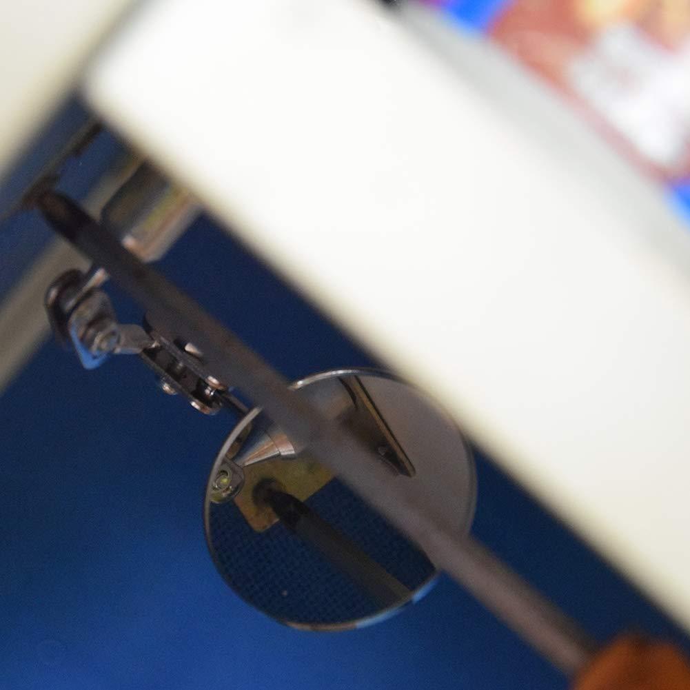 HARDK Telescoping Inspection Mechanics Mirror LED Lighted Flexible 360 Swivel Inspection