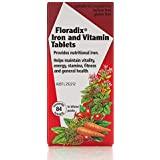 Floradix Iron and Vitamin 84 Tablets, 84 count
