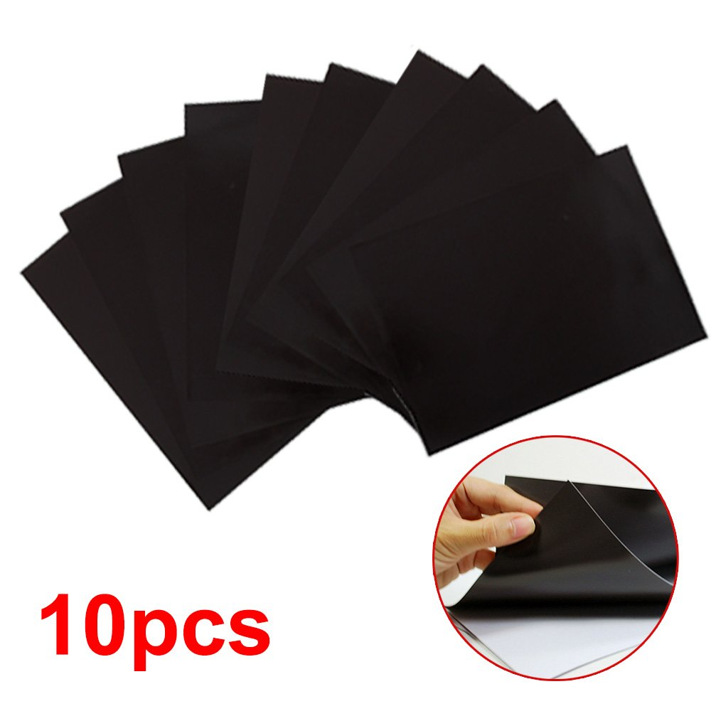 ColdShine 10 Pack A4 Magnetic Sheets 0.4mm Strong Flexible Car Sign Dies/Cutting/Craft/Arts Cshine