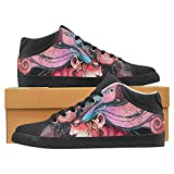 zodiac kids boots - InterestPrint girl in the mask of a lion symbolizes the zodiac Canvas Chukka Fashion Sneakers for Women