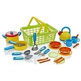 KiddyPlay Cook & Serve Kitchen Basket Playset