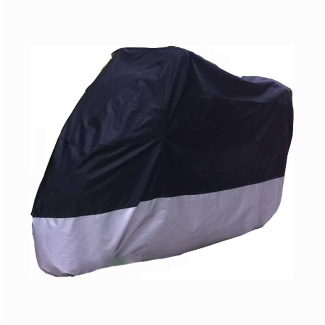 Couverture de Moto Imperm/éable /À leau Ext/érieure UV Protecteur V/élo Pluie Housse De Moto Scooter De Moto
