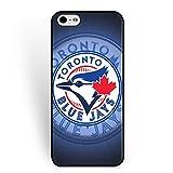 MLB-Iphone 6/6s Case Toronto Blue Jays for Fans Pretty Baseball Team Logo Case for Iphone 6/6s Dustproof