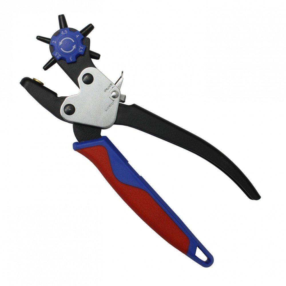 Profesional de agujero de sacabocados 2-4, 5 millimeter cinturó n de piel con el objetivo de alicates 5 millimeter cinturón de piel con el objetivo de alicates Normex