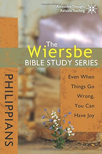 Wiersbe Bible Study Philippians Things product image