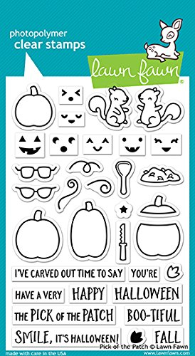 Lawn Fawn Pick of The Patch Clear Stamp