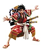 Megahouse Portrait of Pirates Monkey D Luffy Kabuki Version EX Model PVC Figure (1 Piece)