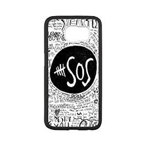 5SOS Galaxy s6 Back Cover, Protective Snap On Case Skin For Samsung Galaxy s6 (Laser Technology)