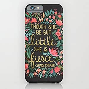 LarryToliver You deserve to have Little & Fierce on Charcoal For iphone 5c Cases Kimberly Kurzendoerfer