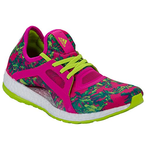 Adidas Women's Pure Boost X Running Shoes Shock US8.5 Pink