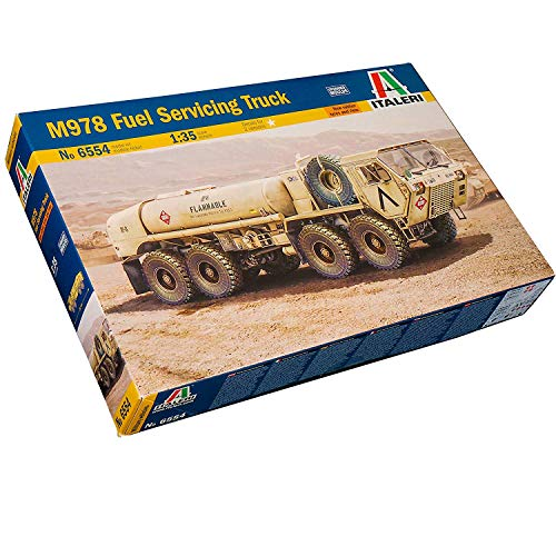 Used, Italeri 6554 - M978 Fuel Servicing Truck (New Rubbers for sale  Delivered anywhere in USA