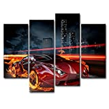 Canvas Print Wall Art Painting For Home Decor,Race - Best Reviews Guide