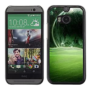 Stuss Case / Funda Carcasa protectora - Army Green Lighted Sun - HTC One M8