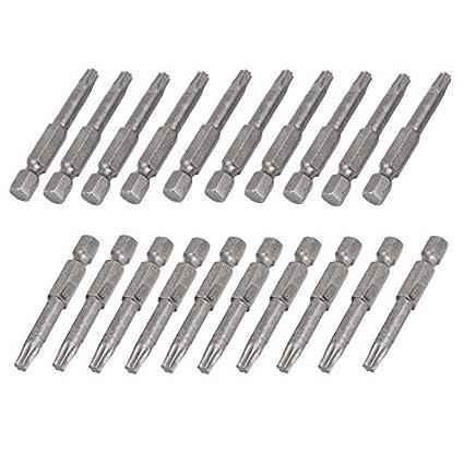 eDealMax a15031000ux0155 T25 Tip 1/4 vástago hexagonal magnética ...