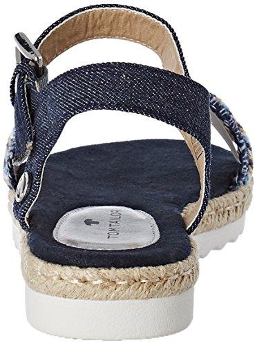 Plateforme Tailor Femme Tom 2791105 Bleu navy Sandales R1x4Sw