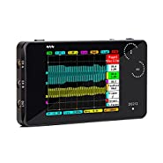 "Oscilloscope, KKmoon DS212 DSO Portable Mini 2 Channel Digital Oscilloscope Pocket Size USB Interface2.8"" Full Color TFT Display 8MB Memory Storage Bandwidth 1MHz"