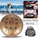 Mini Tongue Drum Steel Percussion Decompression