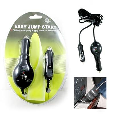 Easy Start Car Emergency Jump Starter Battery Charger 12V Lighter Power Supply !