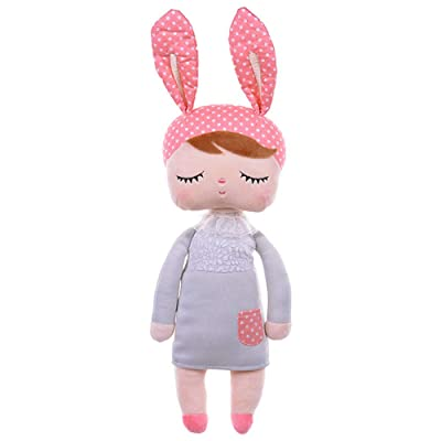 Plush Toys for Girls Babies Soft Cotton Grey MeToo Dolls for Tollders: Toys & Games