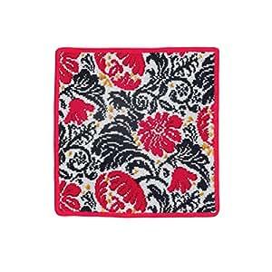 Feiler Cotton Zoe Chenille 25 x 25 cm Face Towel - Red