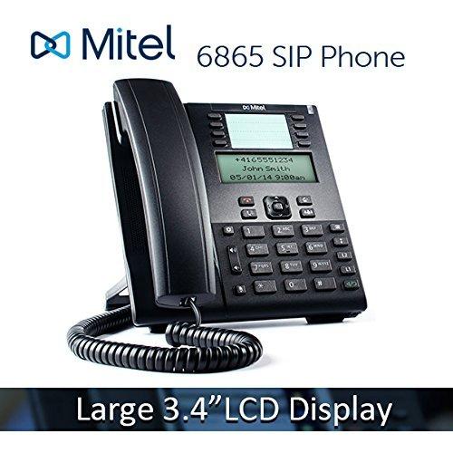 - Mitel 6865 6865i VoIP Phone 3.4