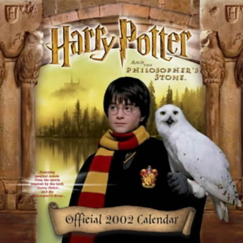 2002 Desk Pad Calendars - Harry Potter and the Philospher's Stone Official 2002 Calendar