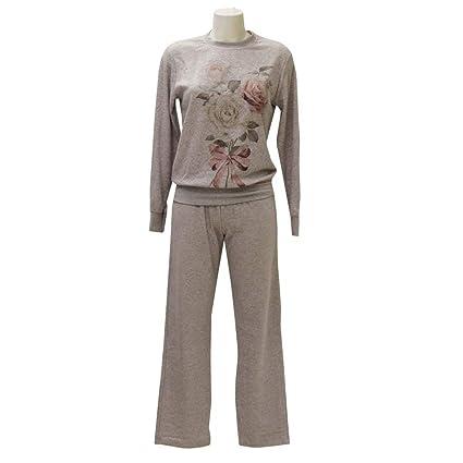 Pijama de mujer (forro polar Chic gris S