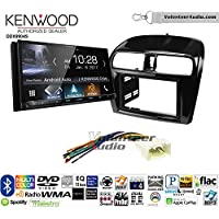 Volunteer Audio Kenwood DDX9904S Double Din Radio Install Kit with Apple CarPlay Android Auto Bluetooth Fits 2014-2015 Mitsubishi Mirage