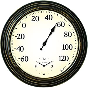 Thermometer and Clock Combo