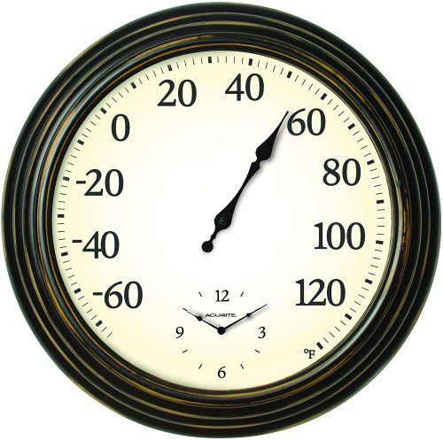 AcuRite 16 Inch Indoor Outdoor Thermometer