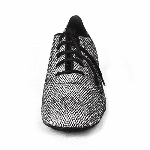 Jig Foo latine salsa Rumba Chacha Chaussures de danse de chaussures d'entraînement pour Femme