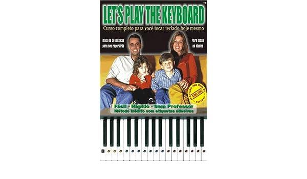 Lets Play The Keyboard (Portugues): Ricardo Pfutzenreuter: 9788586465208: Amazon.com: Books