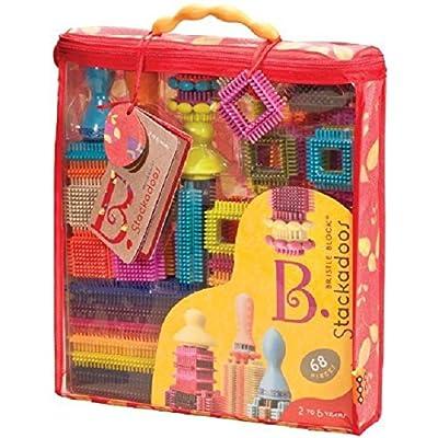 B. Stackadoos, 68 Pieces: Toys & Games