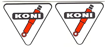 Koni Racing Decals Stickers For Use On Shock Set Of 2