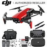 DJI Mavic Air Drone Quadcopter (Flame Red) Essential Travel Bundle