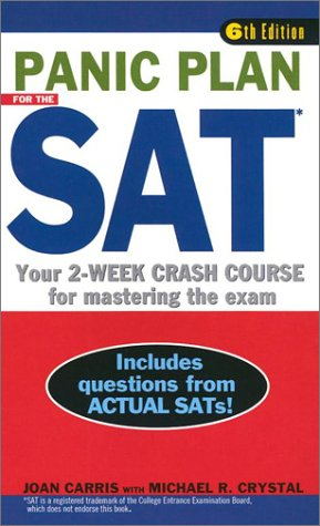 Panic Plan For The SAT  6th Edition