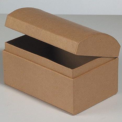 Schatztruhe Pappe / Karton zum Basteln und Selbstgestalten ...