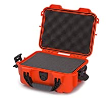 Nanuk 904 Waterproof Hard Case with Foam Insert - Orange