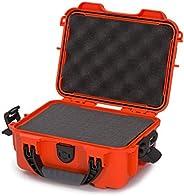 Nanuk 904 Waterproof Hard Case with Foam Insert - Orange - Made in Canada