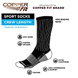 Copper Fit unisex adult Crew Sport - 2 Pack Running