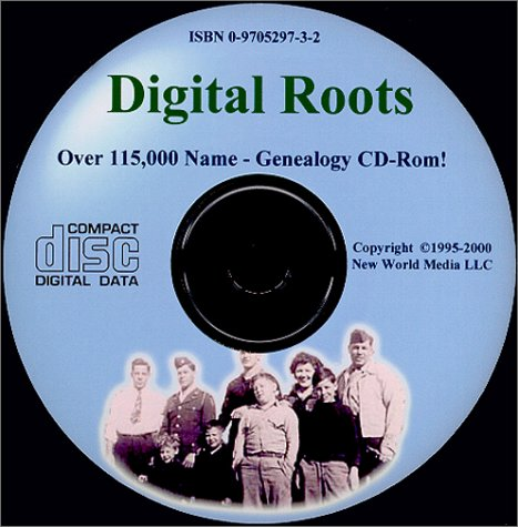 Digital Roots Genealogy CD-Rom and e-Book