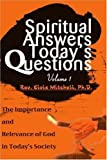 img - for Spiritual Answers / Today's Questions by Rev. Elvis Mitchell (2000-12-01) book / textbook / text book