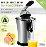 Big Boss Stainless Steel Electric Citrus Juicer