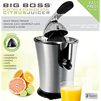 Big Boss Stainless Steel Electric Citrus